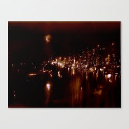 Lost in Some City No. 7 Canvas Print