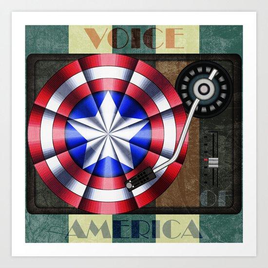 Voice of America Art Print