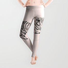 Tiger and Sun I. Leggings