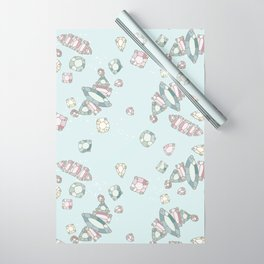 Jewels & Rocks Wrapping Paper