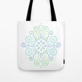 The Joy of Spring Mandala Tote Bag