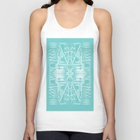 aztec Tank Tops featuring aztec by 12laurec