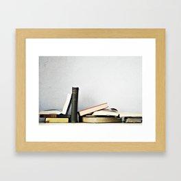 Vintage Books No.1 Framed Art Print