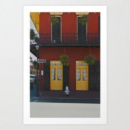 DOOR 1 Art Print