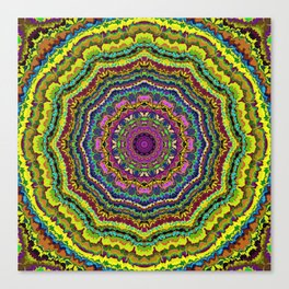 Rock the Casbah-Mandala-1 Canvas Print