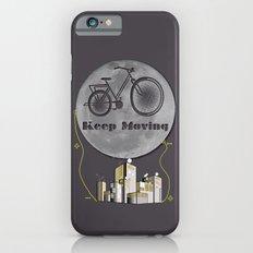 Moon Keep Moving Bicycle iPhone 6s Slim Case
