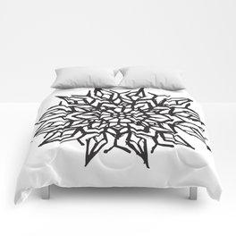Cosmic Flower Comforters