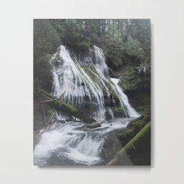 Panther Creek Falls, WA Metal Print