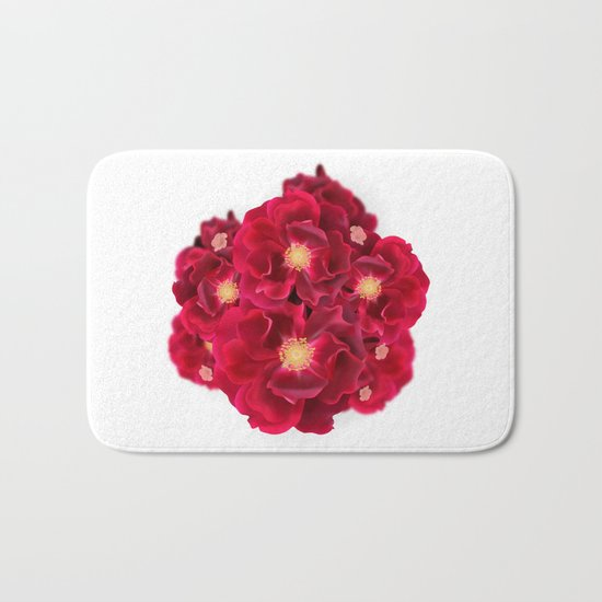 Floral Ink Bath Mat