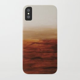 Desert Waves iPhone Case