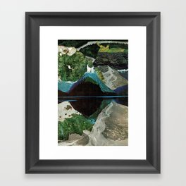 Blow Hole Framed Art Print