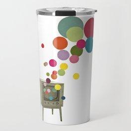 Colour Television Travel Mug