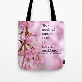 Lost in Waiting  Tote Bag
