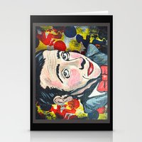 pee wee Stationery Cards featuring Pee Wee by Portraits on the Periphery