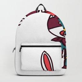 superhero bunny Backpack