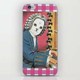 I Don't Bach I Meow Handcut collage iPhone Skin