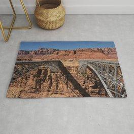 Navajo_Bridge - Marble_Canyon, Arizona Rug