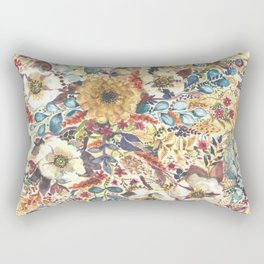 Wedding•Wildflowers Rectangular Pillow