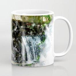 Fallingwater High, Watercolor Coffee Mug