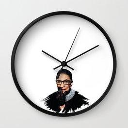 Ruth Bader Ginsburg RBG Wall Clock
