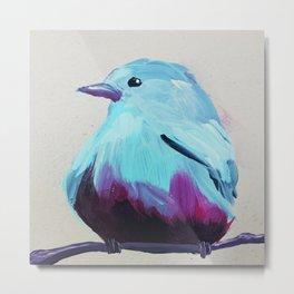 Sad Blue Metal Print