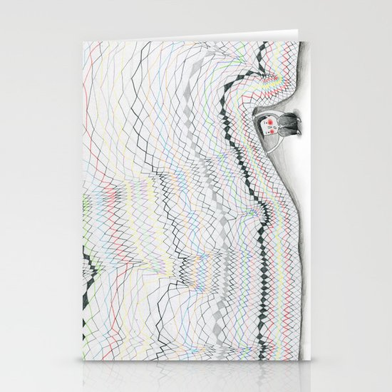 Sous le pull Stationery Cards