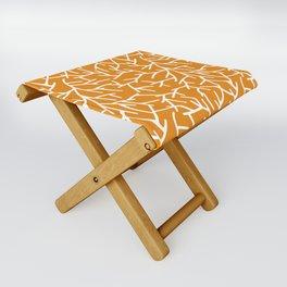 Branches - Orange Folding Stool