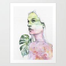 viridescent Art Print