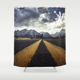 gran teton national park Shower Curtain