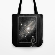 Looking Through a Masterpiece Tote Bag