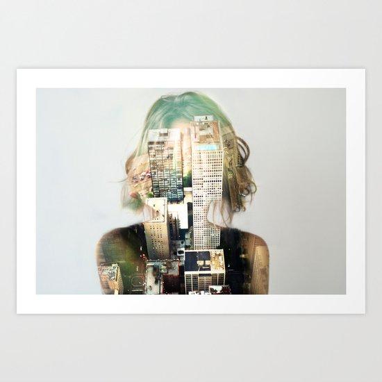 Insideout 2 Art Print