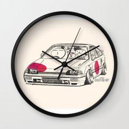 Crazy Car Art 0165 Wall Clock