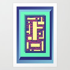 Mediation Composition Art Print