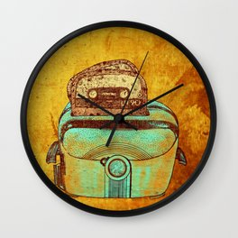 toasted tapes Wall Clock