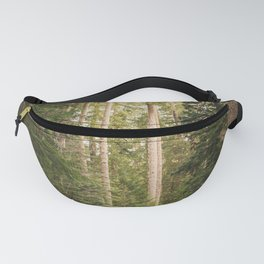 Redwood Forest Black Bear Adventure - National Parks Nature Photography Fanny Pack