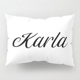 Name Karla Pillow Sham