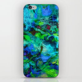 Sand Painting iPhone Skin