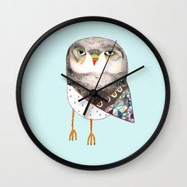 Owl by Ashley Percival Wall Clock