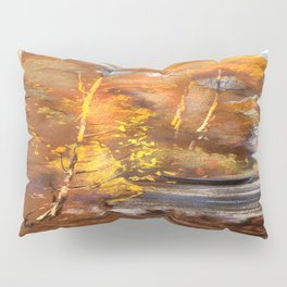 Autumn on the river Pillow Sham
