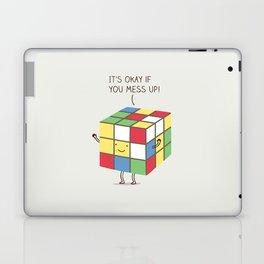 it's okay if you mess up! Laptop & iPad Skin