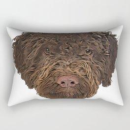 Dog Truffle Dog Italian treasure discoverer sticky beggar Rectangular Pillow