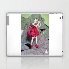 Alexander McQueen Doodle Bomb by Downtown Doodler Laptop & iPad Skin