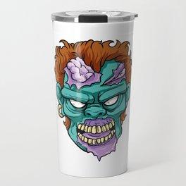 Zombie Horror Undead Gift Travel Mug