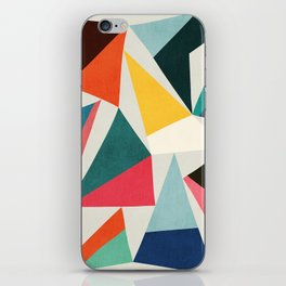 Collection of pointy summit iPhone Skin