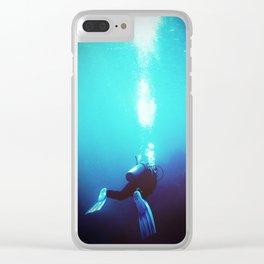 The Diver Clear iPhone Case