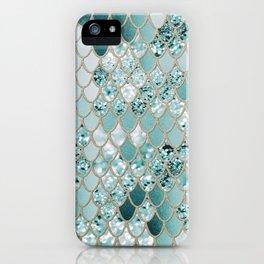 Mermaid Glitter Scales #3 #shiny #decor #art #society6 iPhone Case