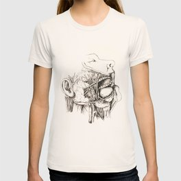 Anatomy: Study 1 Salivating Zombie T-shirt