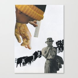 Only You Can Prevent The Spread Of BS! Canvas Print