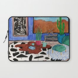 Mid Century Desert Home Laptop Sleeve