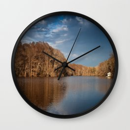 Apalachicola River  Wall Clock